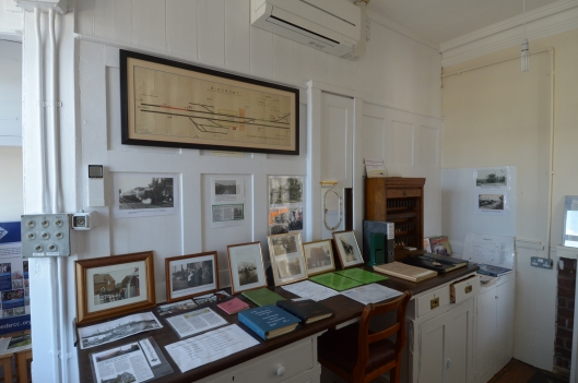 The old booking office has been turned into a museum. Volunteers are happy to give you a guided tour & talk about the history & significance of the exhibits