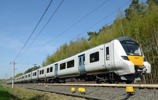 Here's 700101 on the test track at Wildenrath. Earlier in the month I had the opportunity to drive it at 80mph!