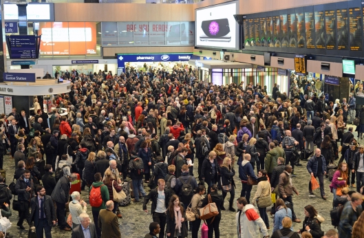 According to the anti Hs2 mob, these people don't exist. (or should just get an earlier train)...