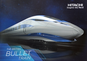 Sleek & stylish, the British bullet train from Hitachi.