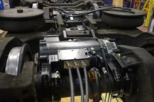 AC traction motors installed in  62778s bogies