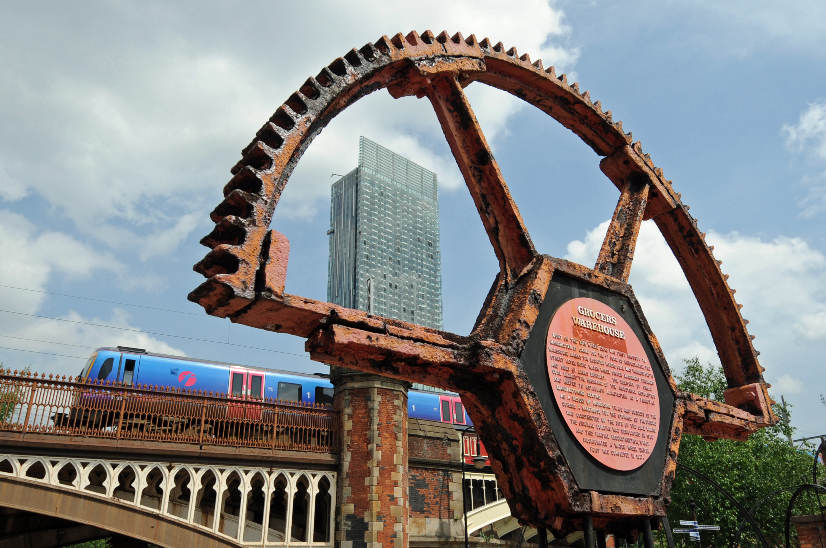 Grocers warehouse, the birthplace of the industrial revolution in Manchester