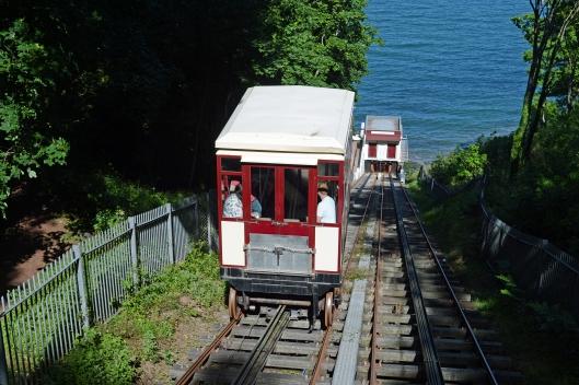 DG215302. Babbacombe funicular railway. 4.6.15