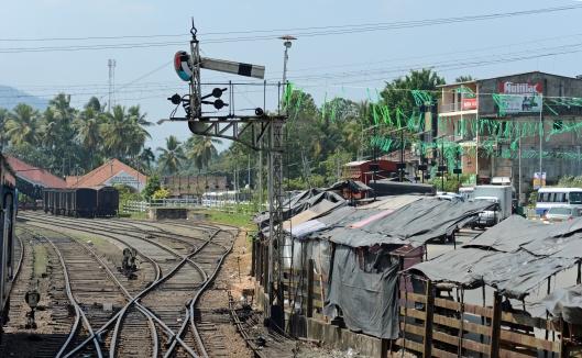 DG237514. Bracket semaphore. Rambukanna. Sri Lanka. 12.1.16.
