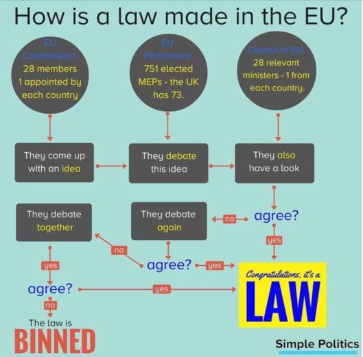 EU make laws