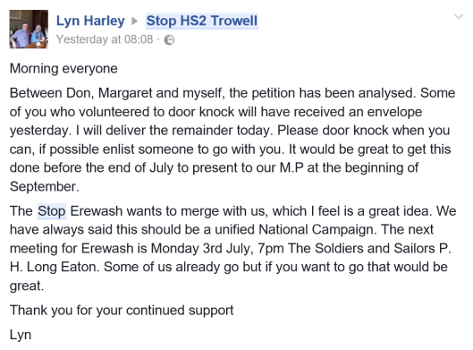 Trowell hs2