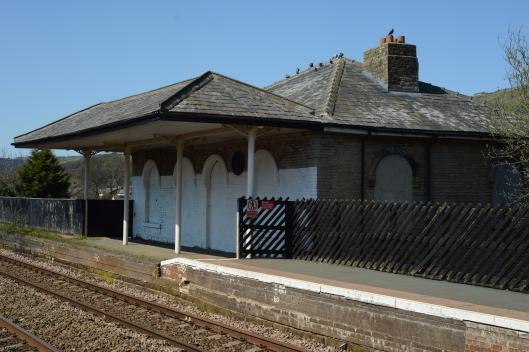 DG211559. Old station building. Mytholmroyd. 18.4.15
