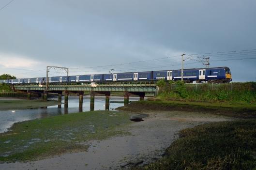DG214166. AGA Class 360s. Manningtree. 19.5.15