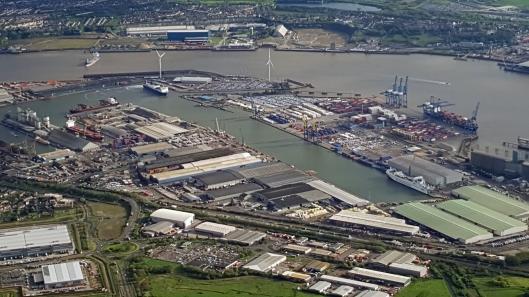 3. Tilbury docks