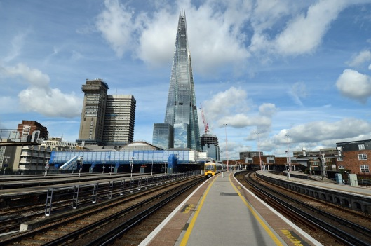 DG123678. The Shard and London Bridge. 11.9.12.