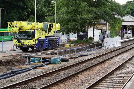 DG302808. Platform extensions. Hebden Bridge. 16.7.18