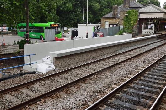 DG302816. Platform extensions. Hebden Bridge. 16.7.18