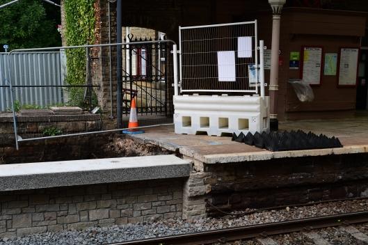 DG303340. Platform extension. Hebden Bridge. 23.7.18