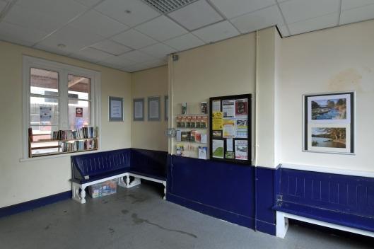 DG305784. Station building. Romily. 21.8.18