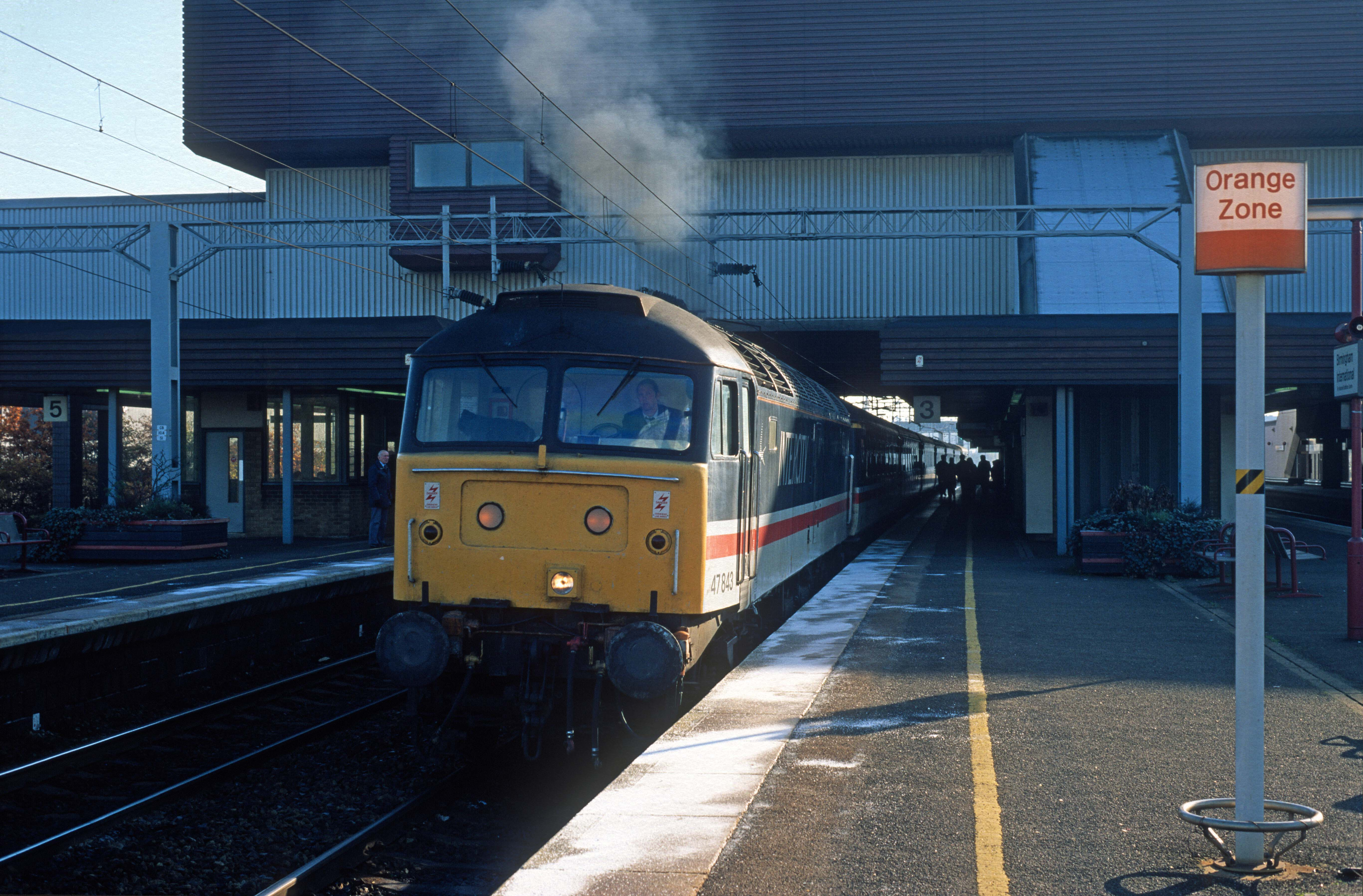 05373. 47843. 11.25 Birmingham International - Manchester Piccadilly. 18.11.95crop