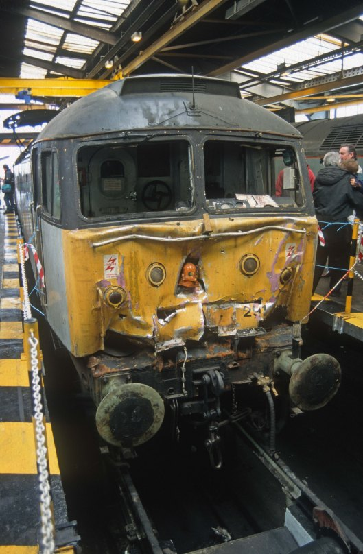 05638. 47291. Tinsley depot open day. Sheffield. 27.4.1996crop