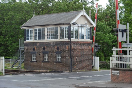 DG81210. Kiveton Park signalbox. 14.5.11.crop