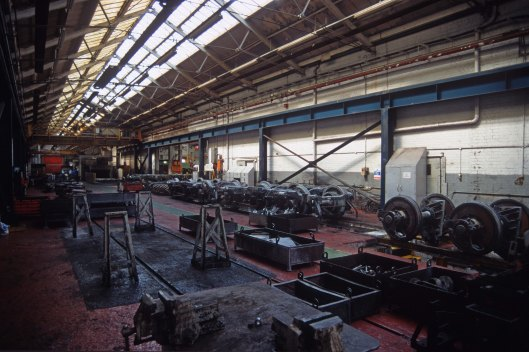 06030. Inside the bogie shop. Crewe works open day. 17.8crop