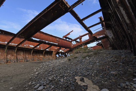 dg316099. wreck of the t. s. s. waverley. wairau lagoons walkway. blenheim. new zealand. 12.1.19crop