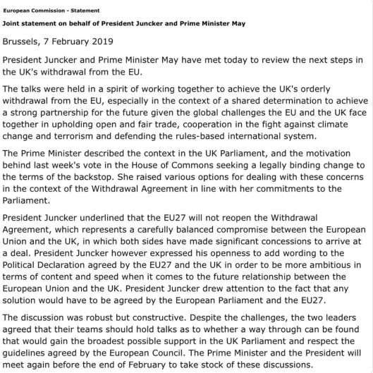 eu statement