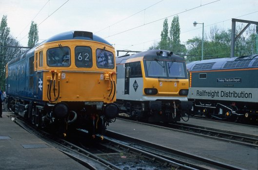 06653. 33108. 92031. Crewe Electric Depot Open Day. 3.5.97crop