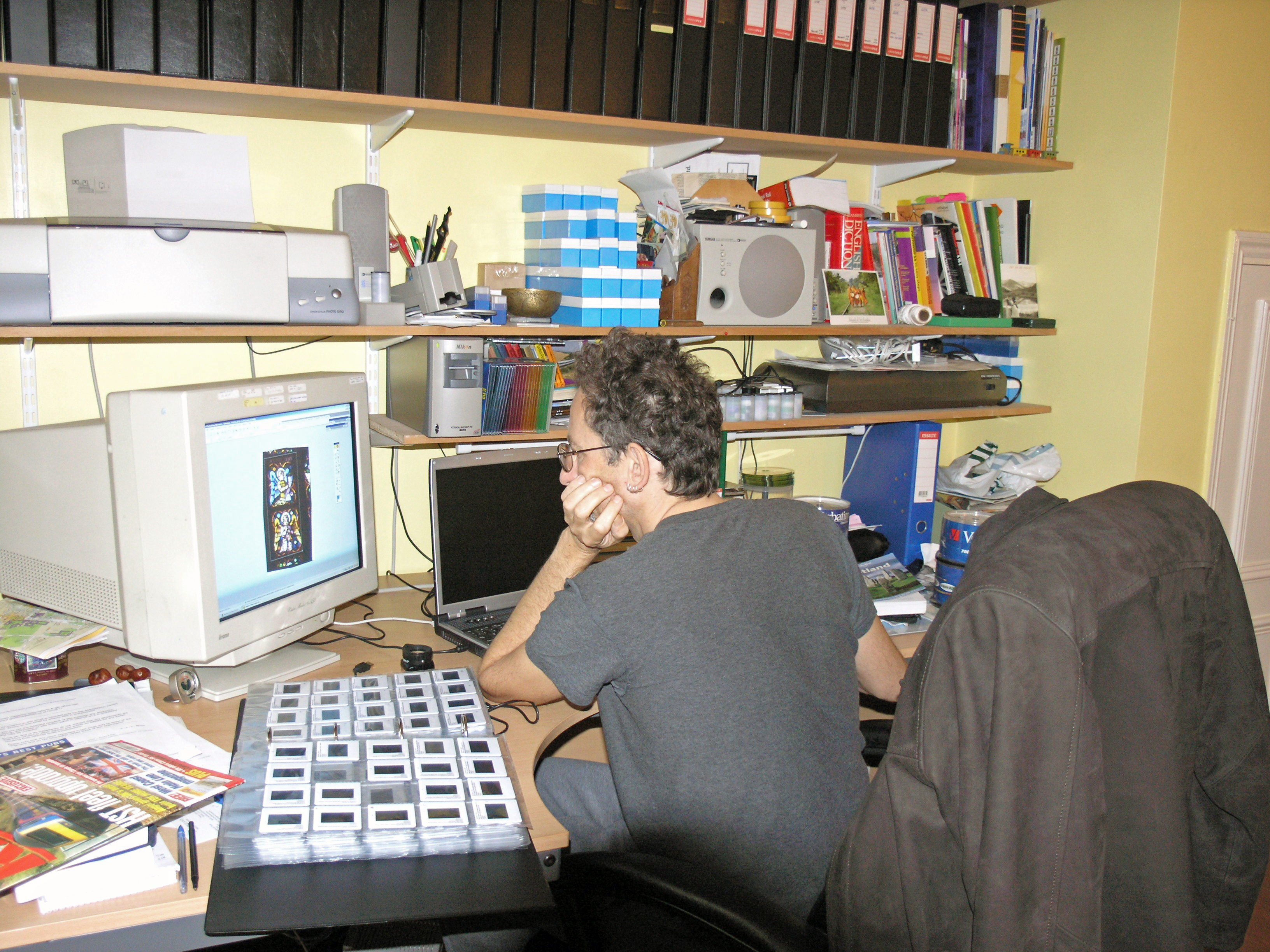 PA150179. Me at home in Inderwick. 19.10.2004